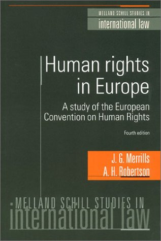 9781929446094: Human Rights In Europe 4th Edition