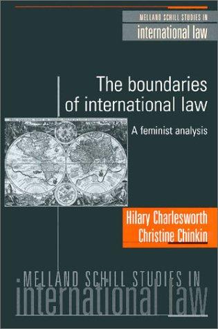 9781929446285: The Boundaries of International Law: A Feminist Analysis