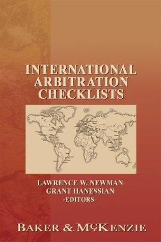 International Arbitration Checklists