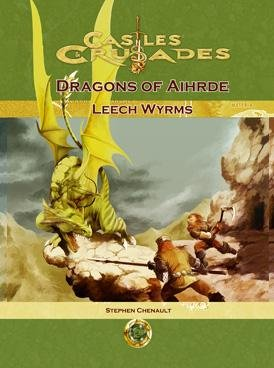 9781929474974: Dragons of Aihde Leech Wyrms