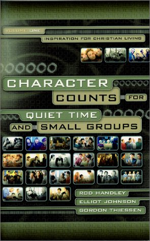 9781929478279: Character Counts for Quiet Time and Small Groups