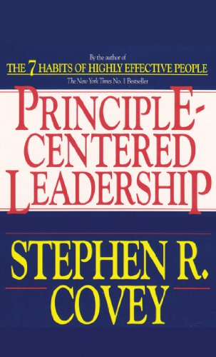 Principle-Centered Leadership (1929494610) by Stephen R. Covey