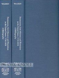 9781929545087: Freemasonry, Anti-Masonry and Illuminism in the United States: 1734-1850 : A Bibliography