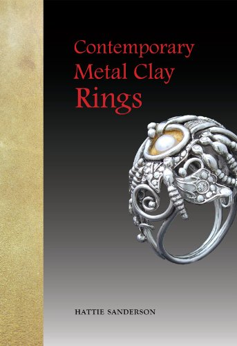Contemporary Metal Clay Rings: Sanderson, Hattie