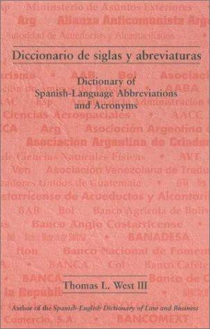 Diccionario de siglas y abreviaturas