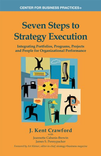 9781929576258: Seven Steps to Strategy Execution