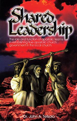Shared Leadership: Dr. John A.