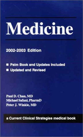 9781929622207: Current Clinical Strategies: Medicine, 2002 Edition
