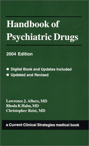 9781929622399: Handbook of Psychiatric Drugs 2004 (Current Clinical Strategies)