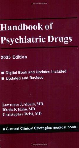 9781929622610: Handbook of Psychiatric Drugs 2005