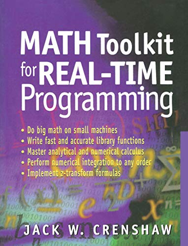 9781929629091: Math Toolkit for Real-Time Programming