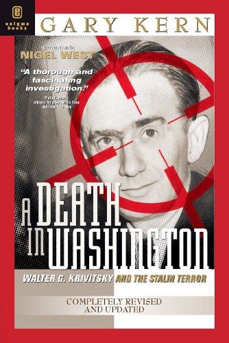 9781929631254: A Death in Washington: Walter G. Krivitsky and the Stalin Terror