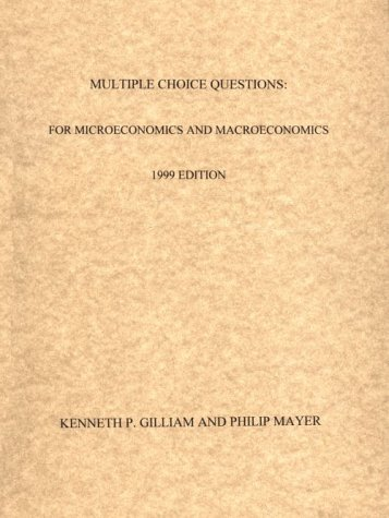 9781929659005: Multiple Choice Questions : For Microeconomics and Macroeconomics