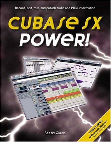 Cubase SX Power!: Guerin, Robert