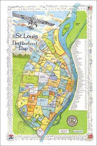 9781929687060: St. Louis Neighborhood Map