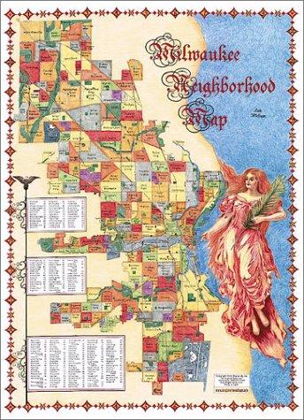 9781929687077: The Milwaukee Neighborhood Map