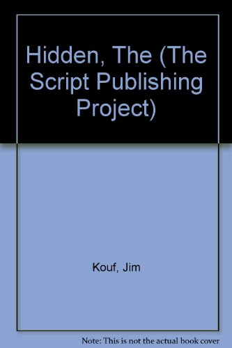 9781929750009: Hidden, The (The Script Publishing Project)