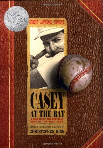 CASEY AT THE BAT : A Ballad Of The Republic - Sung in the Year 1888 - FIRST EDITION -