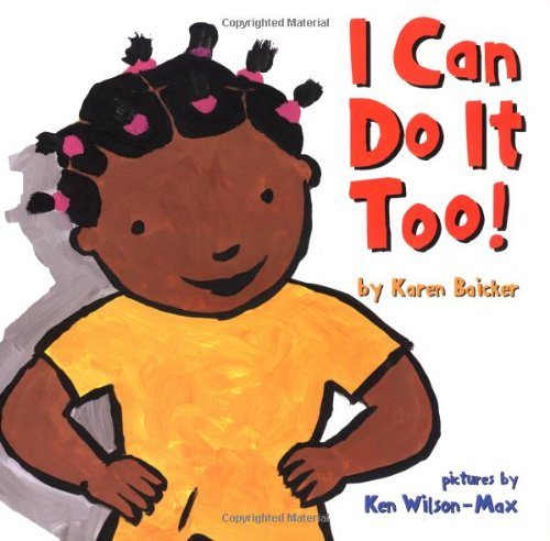 9781929766833: I Can Do It Too!: Handprint Books