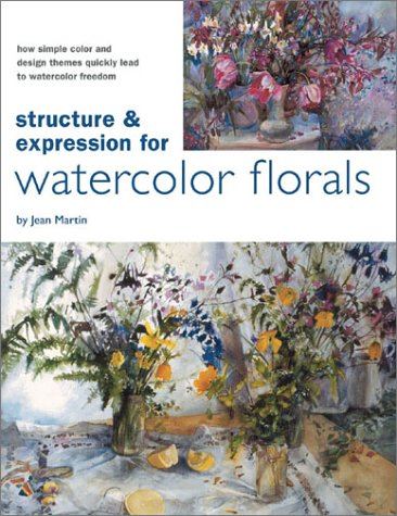 Structure & Expression For Watercolor Flowers in Watercolor