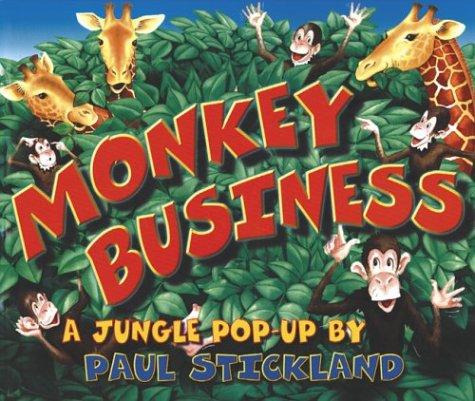 9781929927494: Monkey Business: A Jungle Pop-Up