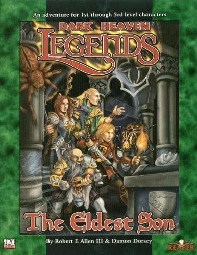 Dark Heaven Legends Eldest Son: allen, Robert E.