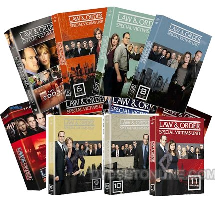 9781930019010: Law & Order: Special Victims Unit Series Seasons 1-11
