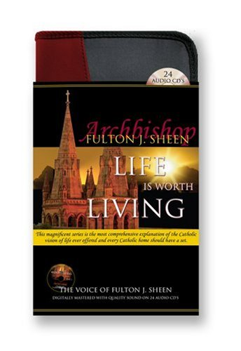 9781930034006: Life is Worth Living-24 CD Audiobook-Catholic Answers-Anxiety-Divine Mercy-Beyond Good and Evil-Eternity for Men-Jesus Christ-Healing-God is Not ... Church and Science-Catholic Mass-Catechism