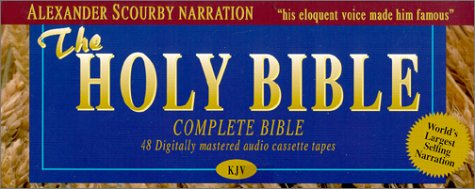 9781930034013: King James Complete Bible on Audio Tape