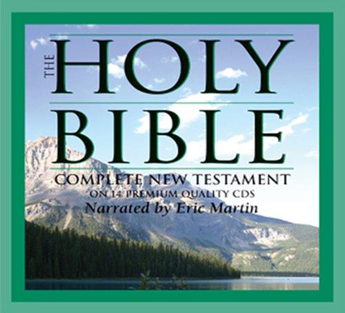 9781930034105: Audio Bible - Audio Bible KJV - New Testament Audio Bible on CD - Digitally Mastered