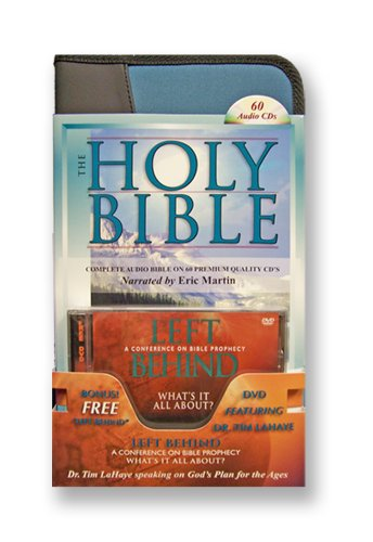 9781930034136: Audio Bible King James Complete Bible on 60 High Digital Audio CDs by Eric Martin PLUS DVD Left Behind Bible Prophecy-Tim ... oshua-Jesus-Mary-Peter-Paul-Romans-Revelation