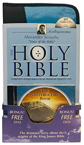 9781930034655: KJV Complete Scourby CD with Free Indest DVD-Holy King James Version Old and New Testament Audio Bible by Alexander Scourby Bible-KJV with Free $30 ... Virgin Mary-St. John the Baptist-Jesus Birth