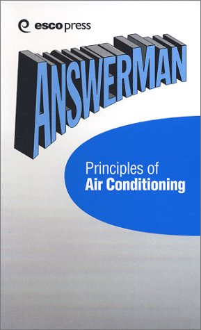 9781930044036: AnswerMan Principles of Air Conditioning (AnswerMan Pocket Reference Books)