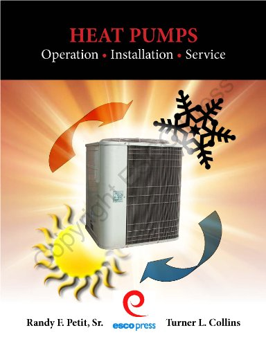 Heat Pumps: Operation, Installation, Service: Randy F. Petit Sr.; Turner L. Collins