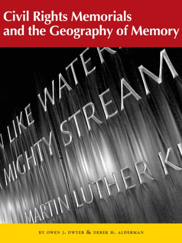 9781930066830: Civil Rights Memorials and the Geography of Memory (Center Books on the American South Ser.)