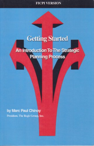 9781930081000: Getting Started - An Introduction to the Strategic Planning Process