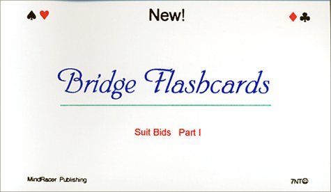 9781930088009: Bridge Flashcards: Suit Bids
