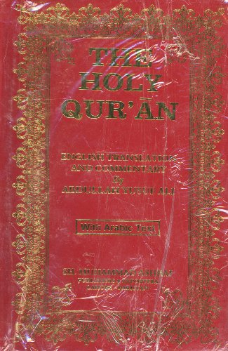 9781930097667: The Holy Qur'an: English Translation and Commentary by Abdullah Yusuf Ali