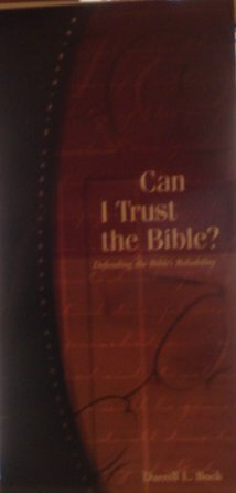 9781930107038: Can I Trust the Bible?: Defending the Bible's Reliability (RZIM Critical Questions Series)