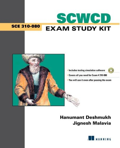 9781930110595: SCWCD Exam Study Kit: Java Web Component Developer Certification