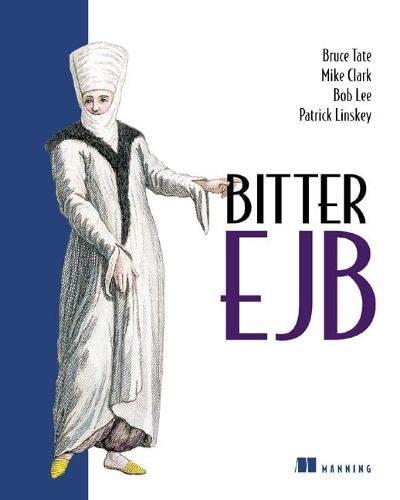 9781930110953: Bitter EJB