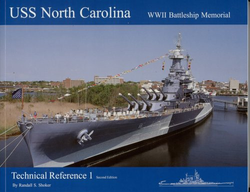 9781930127104: USS North Carolina Technical Reference 1 2nd Edition