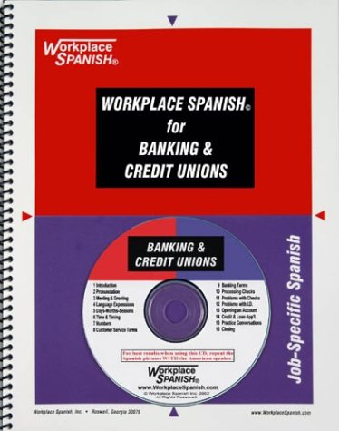 9781930134256: Workplace Spanish for Banking & Credit Unions