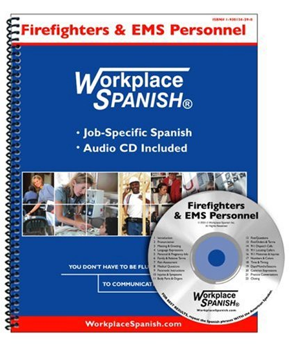 9781930134294: Workplace Spanish for Firefighters & EMS Personnel