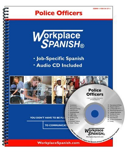 9781930134379: Workplace Spanish for Police Officers & 911 Dispatchers