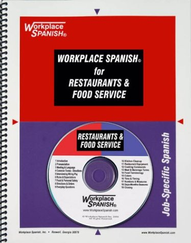 9781930134393: Workplace Spanish for Restaurants and Food Service