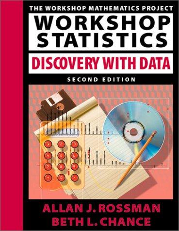 9781930190030: Workshop Statistics