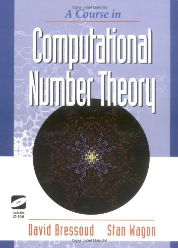 9781930190108: Course in Computational Number Theory (Textbooks in Mathematical Sciences)