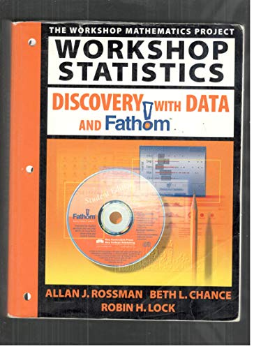 9781930190283: Workshop Statistics: Discovery With Data and Fathom