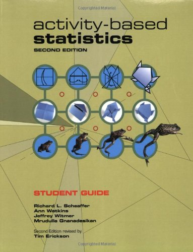 9781930190726: Activity-Based Statistics. Student Guide